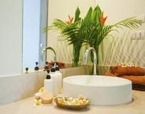 Bathroom spa Royalty-vrije Stock Foto's