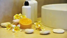 Bathroom spa Royalty Free Stock Photo