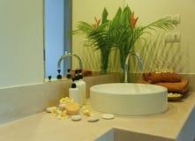 Bathroom spa Royalty Free Stock Photography