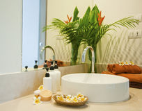 Bathroom spa Stock Photography
