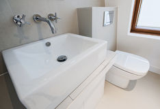 Bathroom suite Stock Photography