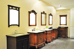 Bathroom suite Royalty Free Stock Images