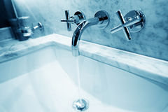 Bathroom  tap Royalty Free Stock Photos