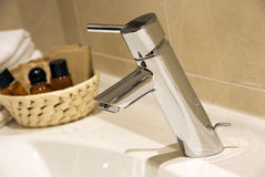 Bathroom tap Royalty Free Stock Photo