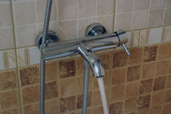 Bathroom tap Royalty Free Stock Images