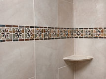 Bathroom Tile Remodeled Stock Photography