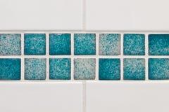 Bathroom tiles. Clean bathroom tiles asa detailed background Stock Photography