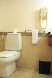 Bathroom with toilet Royalty Free Stock Photos