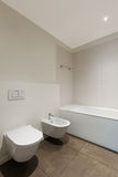 Bathroom, toilet and bidet Stock Photo