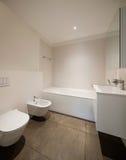 Bathroom, toilet and bidet Stock Photos