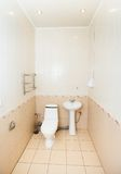Bathroom toilet with sink Stock Photography