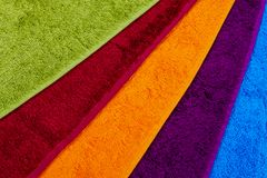 Bathroom towels Royalty Free Stock Photos