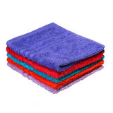 Bathroom Towels isolated on white Royalty Free Stock Photo