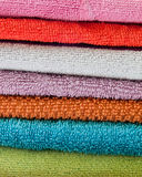 Bathroom towels Royalty Free Stock Image