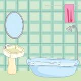 Bathroom Tub Royalty Free Stock Photos