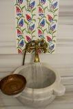 Bathroom in Turkey – Hammam. A Bathroom in Turkey – Hammam Royalty Free Stock Photography