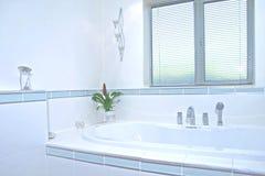 Bathroom UK. Corner deatail of UK luxury bathroom stock image