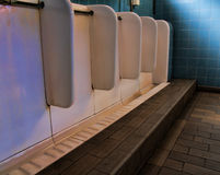 Bathroom urinal Royalty Free Stock Photos