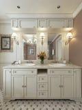 Bathroom Vanities classic style Stock Images