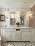 Bathroom Vanities classic style Royalty Free Stock Photos