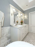 Bathroom Vanities classic style Royalty Free Stock Photo