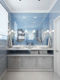 Bathroom Vanities and Sink Consoles Stock Photography