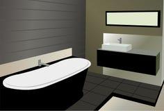 Bathroom vector Stock Photography