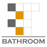 Bathroom vector logo. Vector illustration eps 10 Stock Photos
