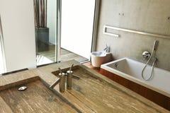Bathroom view Stock Image