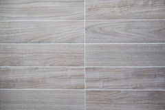 Bathroom wall tiles. Brown pattern wood Stock Photography