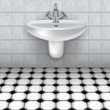 The bathroom washbasin Stock Photography
