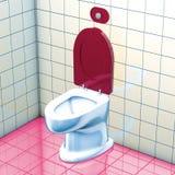 Bathroom WC Stock Image