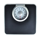 Bathroom weight scale Stock Image