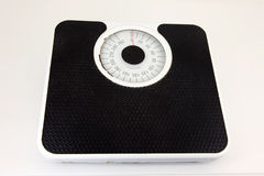 Bathroom weight scale isolated Stock Photo