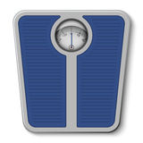 Bathroom weight scale stock illustration