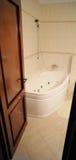 Bathroom with Whirlpool Bathtub Stock Images