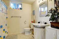 Bathroom With Toy Ducks Stock Image