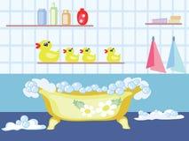 BathroomCMYK Fotos de archivo