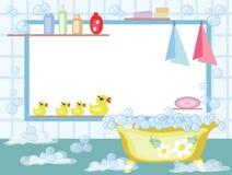 BathroomCMYK Royalty Free Stock Photography