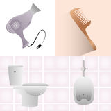 Bathrooms Royalty Free Stock Images