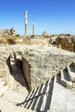 Baths of Antonius in Carthage Tunisia Stock Photos