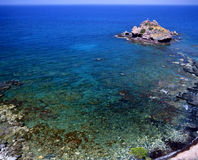 Baths of Aphrodite. The small rock formation known as the Baths of Aphrodite on the island of Cyprus Stock Photos