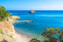 Baths of Aphrodite. The Baths of Aphrodite is the famous tourist destination, Cyprus Royalty Free Stock Image