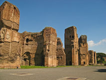 Baths of Caracalla 02 Royalty Free Stock Image