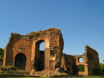 Baths of Caracalla 03 Royalty Free Stock Photography