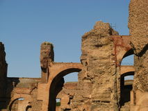 Baths of Caracalla 07 Stock Photography