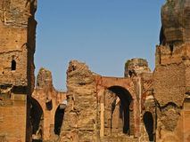 Baths of Caracalla 12 royalty free stock images