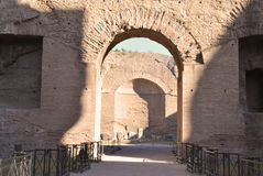 The Baths of Caracalla Royalty Free Stock Images
