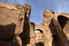 Baths of Caracalla Royalty Free Stock Images