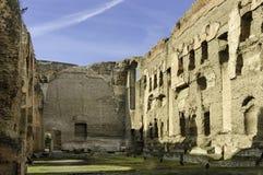 Baths of Caracalla stock photography